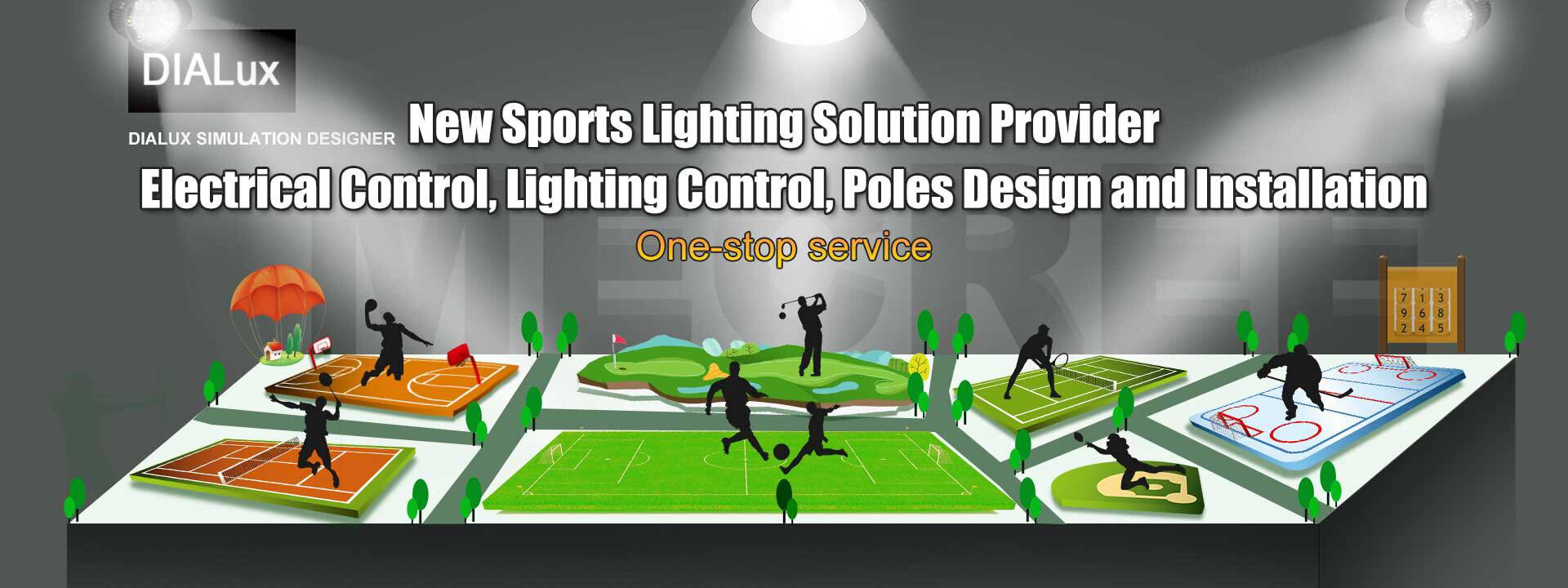 PROFESSIONAL LIGHTING FOR SPORT FIELD