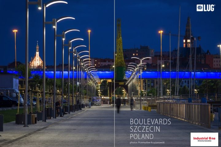 Smart City And Architectural Lighting Industrial One